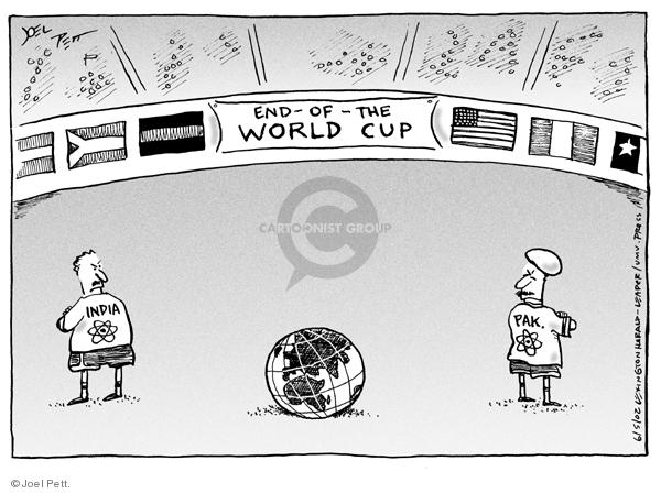 Joel Pett  Joel Pett's Editorial Cartoons 2002-06-05 Middle East
