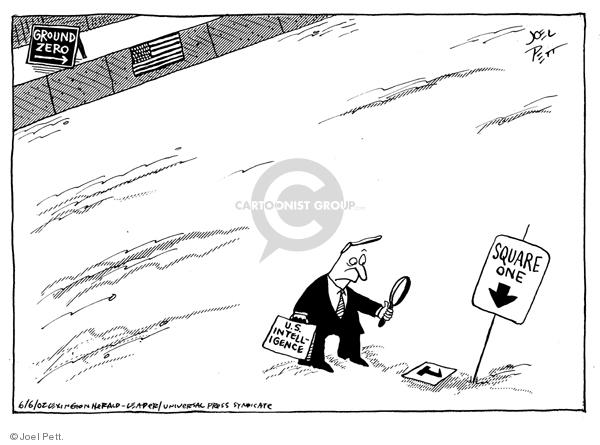Cartoonist Joel Pett  Joel Pett's Editorial Cartoons 2002-06-06 2001