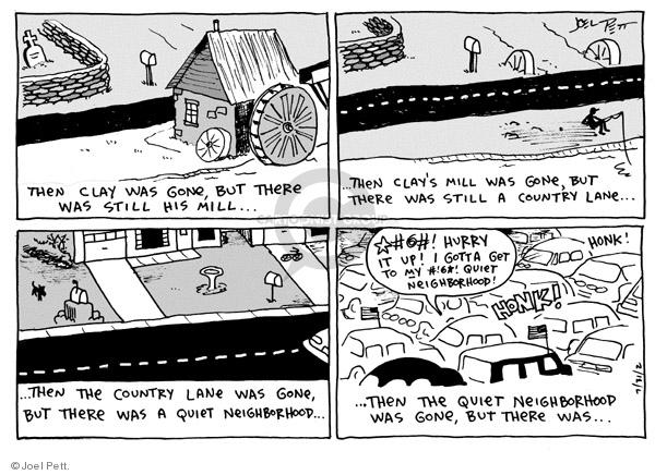 Joel Pett  Joel Pett's Editorial Cartoons 2002-07-31 yard