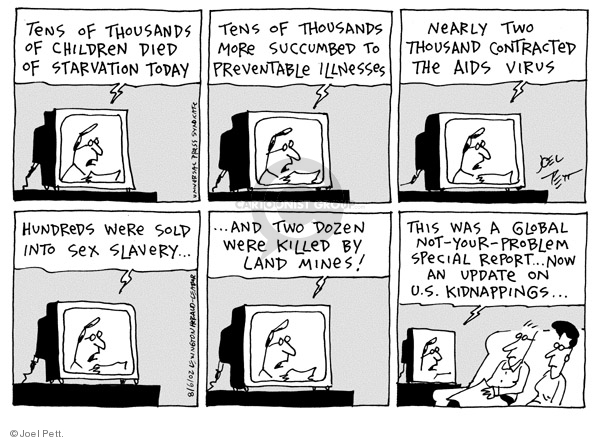 Cartoonist Joel Pett  Joel Pett's Editorial Cartoons 2002-08-06 special