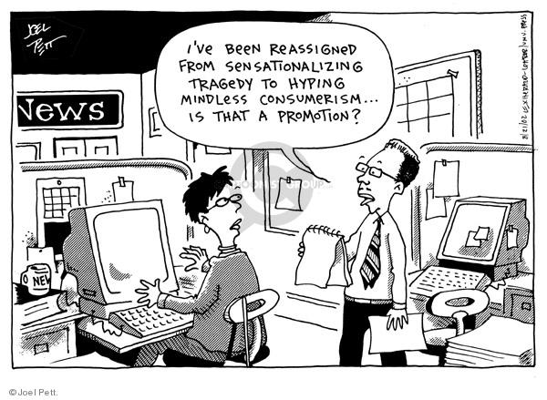 Joel Pett  Joel Pett's Editorial Cartoons 2002-08-21 reporter