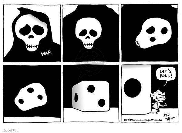 Joel Pett  Joel Pett's Editorial Cartoons 2002-08-22 2001
