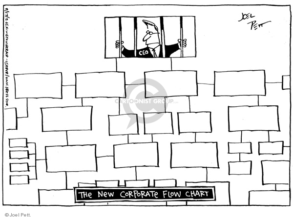Joel Pett  Joel Pett's Editorial Cartoons 2002-09-17 business scandal