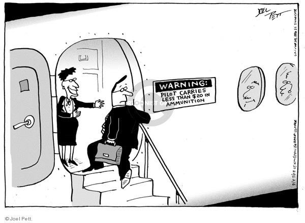 Joel Pett  Joel Pett's Editorial Cartoons 2002-09-27 $20