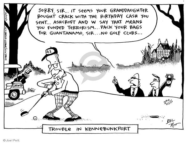 Joel Pett  Joel Pett's Editorial Cartoons 2002-10-23 FBI