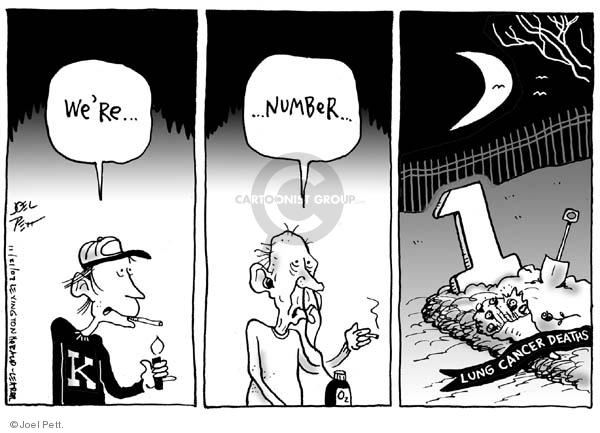 Joel Pett  Joel Pett's Editorial Cartoons 2002-11-21 disease