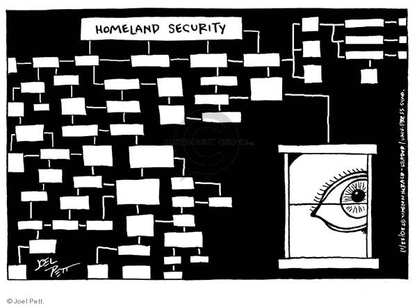 Joel Pett  Joel Pett's Editorial Cartoons 2002-11-22 civil liberty