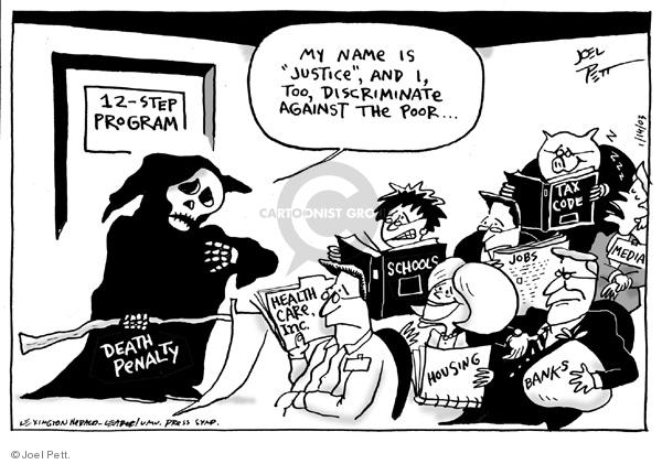 Joel Pett  Joel Pett's Editorial Cartoons 2003-01-14 political media