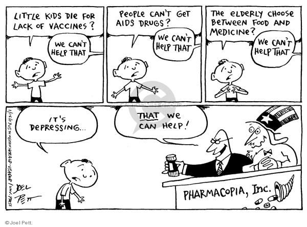 Joel Pett  Joel Pett's Editorial Cartoons 2003-01-15 people