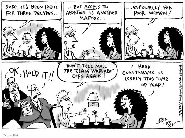 Joel Pett  Joel Pett's Editorial Cartoons 2003-01-22 detention