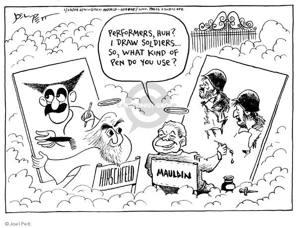 Joel Pett  Joel Pett's Editorial Cartoons 2003-01-24 cartoonist