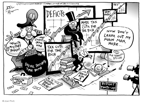 Joel Pett  Joel Pett's Editorial Cartoons 2003-02-05 state