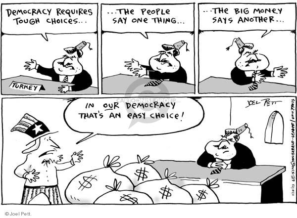 Joel Pett  Joel Pett's Editorial Cartoons 2003-02-28 democratic