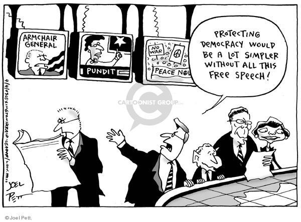 Joel Pett  Joel Pett's Editorial Cartoons 2003-04-04 Iraq civil war