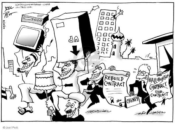 Joel Pett  Joel Pett's Editorial Cartoons 2003-04-10 bid