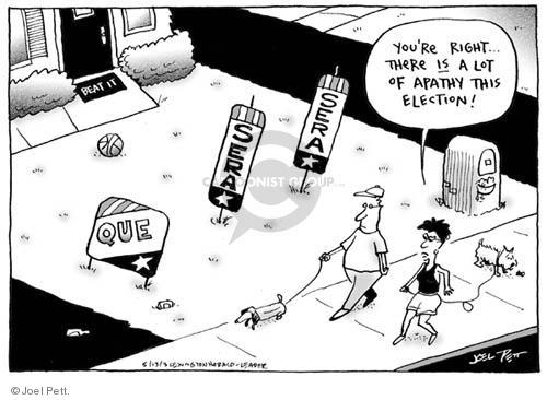 Joel Pett  Joel Pett's Editorial Cartoons 2003-05-13 voting rights