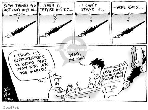 Joel Pett  Joel Pett's Editorial Cartoons 2003-05-30 birth