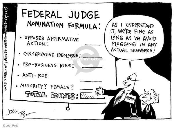 Joel Pett  Joel Pett's Editorial Cartoons 2003-06-25 number