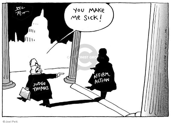 Joel Pett  Joel Pett's Editorial Cartoons 2003-06-28 racism