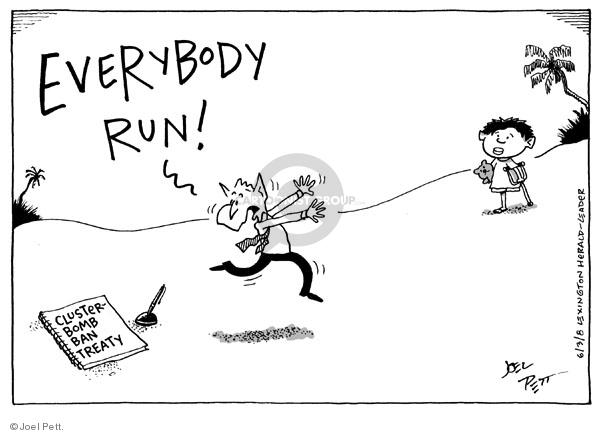 Cartoonist Joel Pett  Joel Pett's Editorial Cartoons 2008-06-03 leader