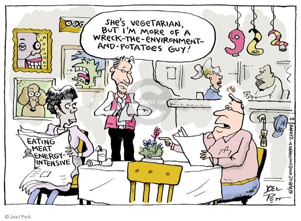 Joel Pett  Joel Pett's Editorial Cartoons 2008-06-08 environment