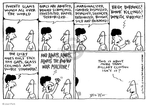 Cartoonist Joel Pett  Joel Pett's Editorial Cartoons 2008-06-10 standard