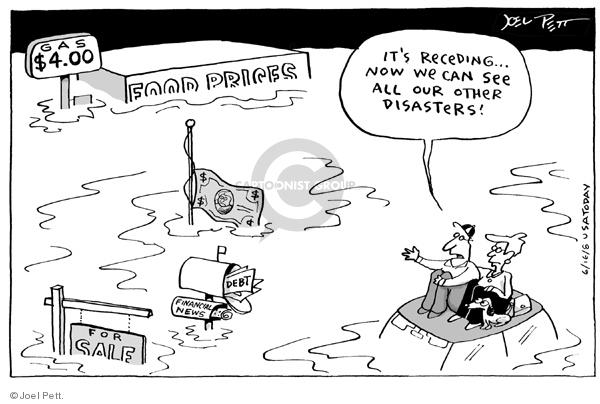 Joel Pett  Joel Pett's Editorial Cartoons 2008-06-16 political media