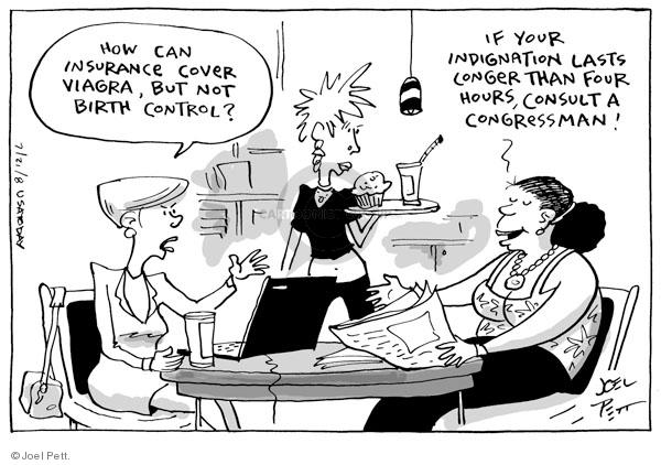 Joel Pett  Joel Pett's Editorial Cartoons 2008-07-21 birth