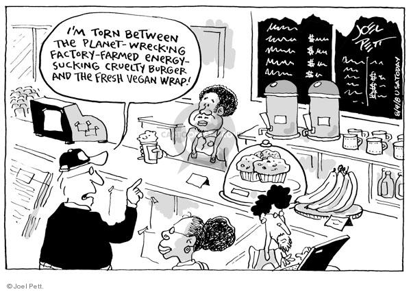 Cartoonist Joel Pett  Joel Pett's Editorial Cartoons 2008-08-04 decision