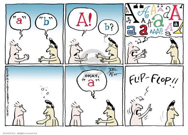 Joel Pett  Joel Pett's Editorial Cartoons 2008-08-10 argue