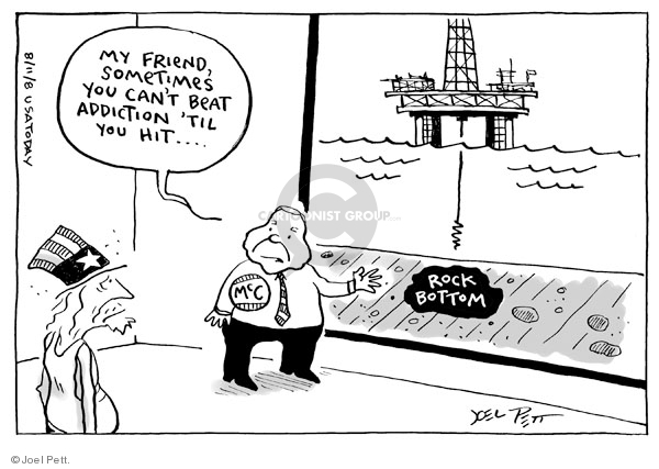 Joel Pett  Joel Pett's Editorial Cartoons 2008-08-11 energy source