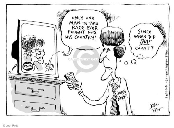 Joel Pett  Joel Pett's Editorial Cartoons 2008-09-16 duty