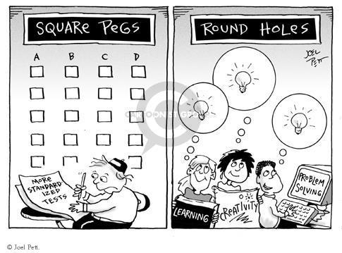 Joel Pett  Joel Pett's Editorial Cartoons 2000-00-00 discourage