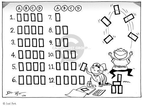 Cartoonist Joel Pett  Joel Pett's Editorial Cartoons 2000-00-00 youth