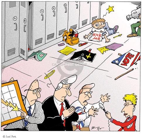 Joel Pett  Joel Pett's Editorial Cartoons 2000-00-00 political media