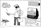 Cartoonist Joel Pett  Joel Pett's Editorial Cartoons 2008-10-20 2008 election endorsement
