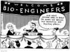 Cartoonist Joel Pett  Joel Pett's Editorial Cartoons 2000-04-04 science