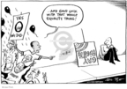 Cartoonist Joel Pett  Joel Pett's Editorial Cartoons 2008-11-10 2008 election