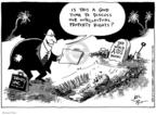 Cartoonist Joel Pett  Joel Pett's Editorial Cartoons 2001-03-22 copyright