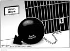Cartoonist Joel Pett  Joel Pett's Editorial Cartoons 2009-08-21 political symbol