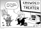 Cartoonist Joel Pett  Joel Pett's Editorial Cartoons 2009-08-25 tonight