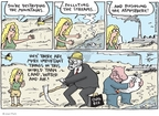 Joel Pett  Joel Pett's Editorial Cartoons 2009-09-20 deforestation
