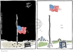 Cartoonist Joel Pett  Joel Pett's Editorial Cartoons 2009-11-11 flag