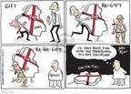 Cartoonist Joel Pett  Joel Pett's Editorial Cartoons 2009-12-17 gift