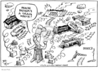 Joel Pett  Joel Pett's Editorial Cartoons 2009-12-21 Mitch McConnell