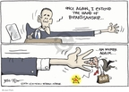 Cartoonist Joel Pett  Joel Pett's Editorial Cartoons 2010-01-29 hand