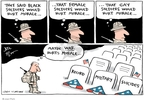 Cartoonist Joel Pett  Joel Pett's Editorial Cartoons 2010-02-08 black