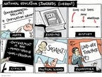 Cartoonist Joel Pett  Joel Pett's Editorial Cartoons 2010-03-12 Barack Obama
