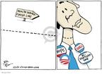 Cartoonist Joel Pett  Joel Pett's Editorial Cartoons 2010-03-17 2008 election