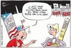 Cartoonist Joel Pett  Joel Pett's Editorial Cartoons 2010-09-01 Sarah Palin